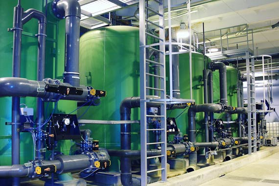 Industrial Water Filtration Facility